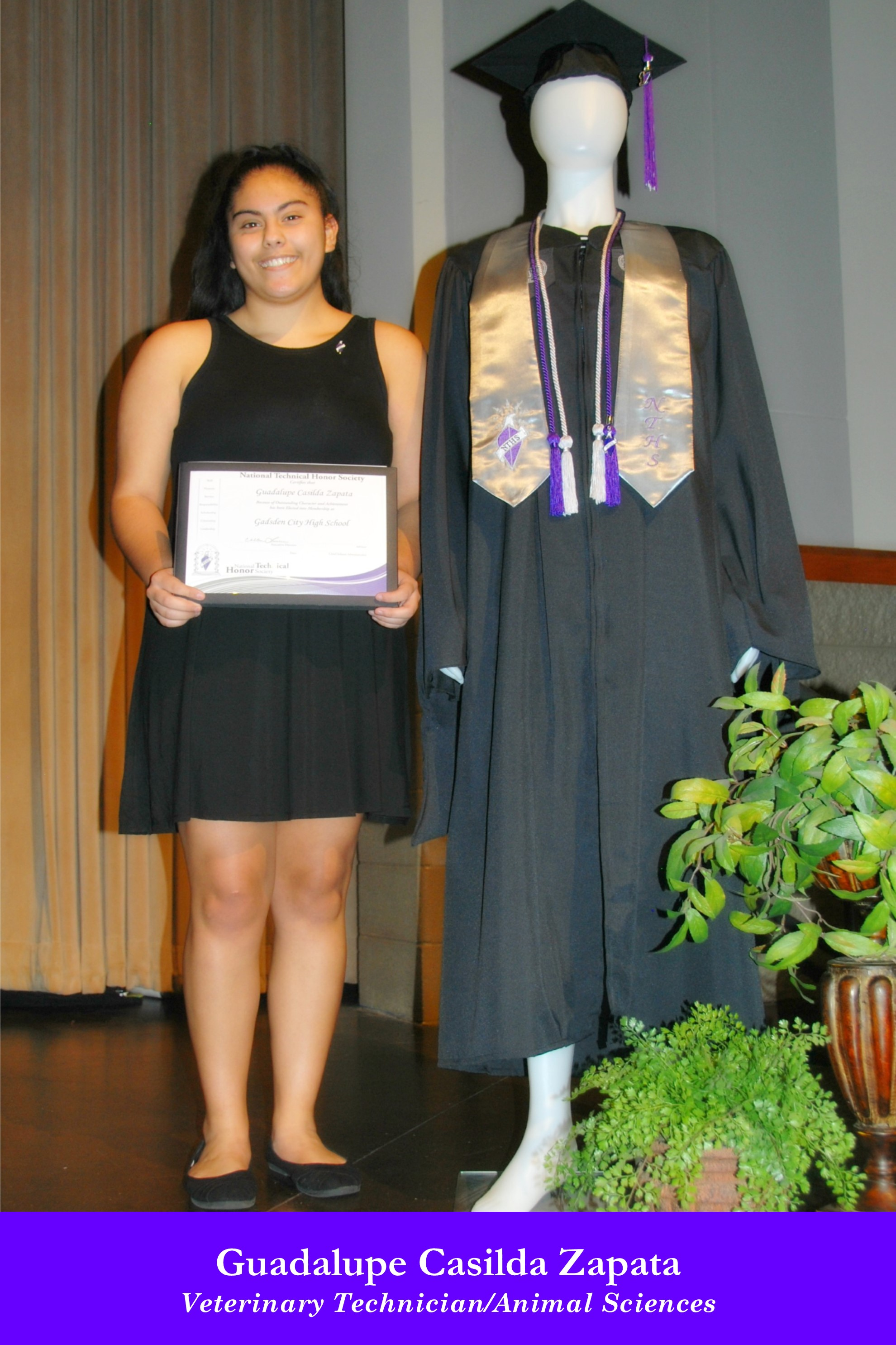 NTHS Induction Guadalupe Casilda Zapata