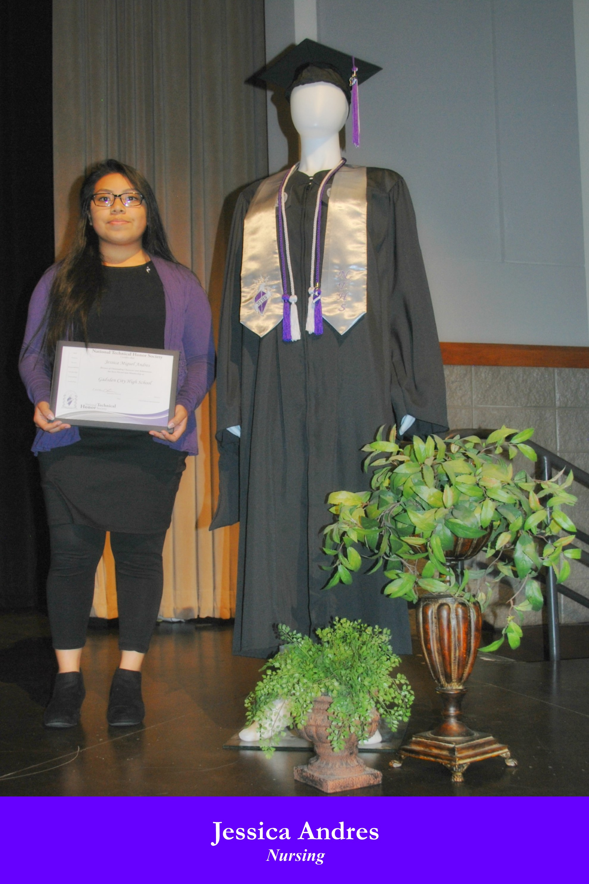 NTHS Induction Jessica Andres