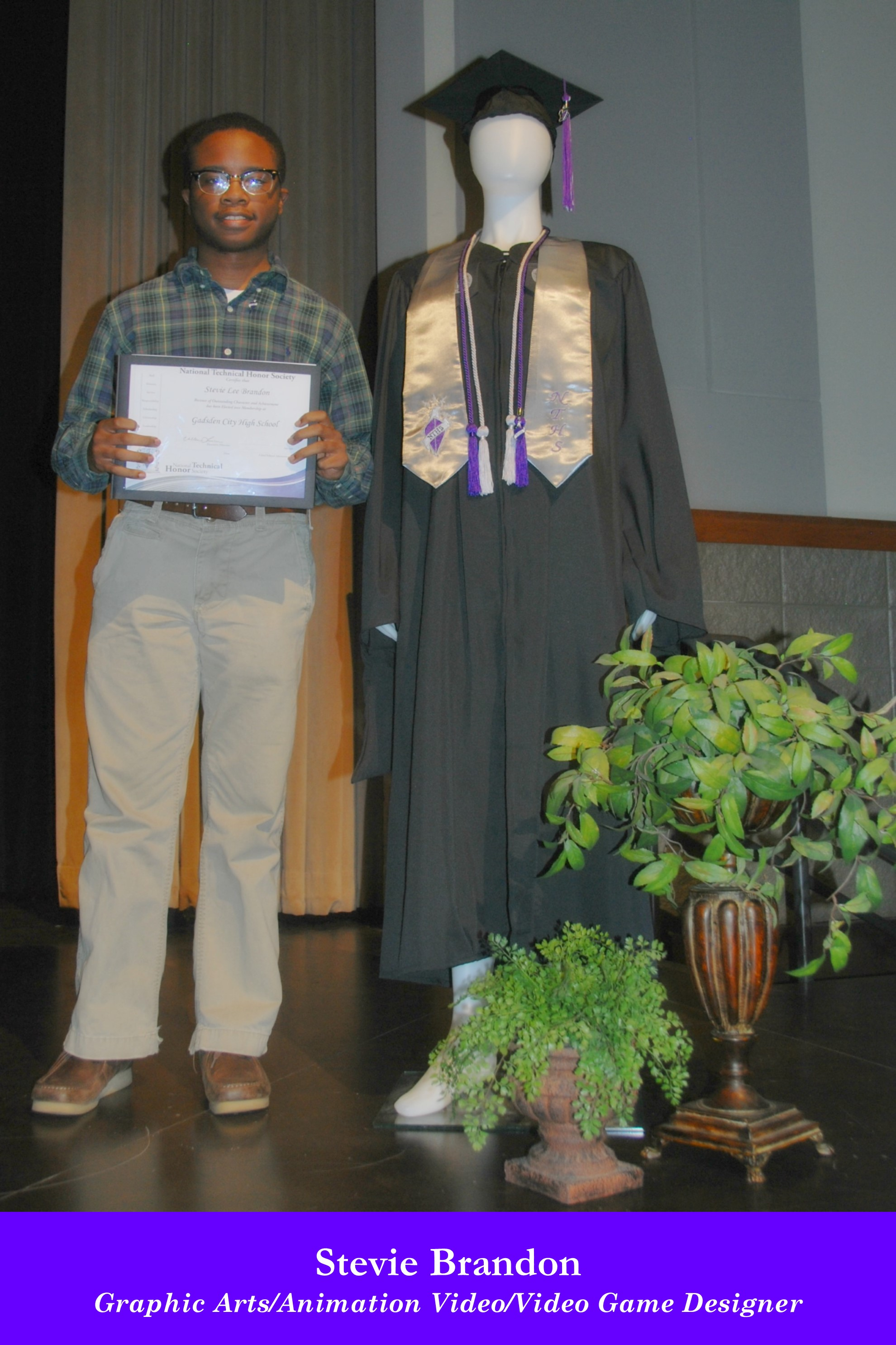 NTHS Induction Stevie Brandon