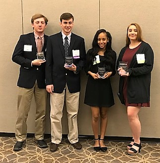 DECA Members at DECA Career Technical Competition 2018 E