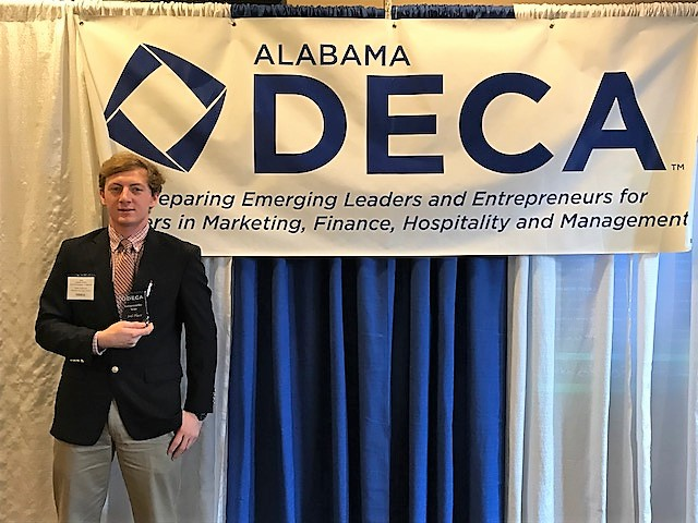 DECA Members at DECA Career Technical Competition 2018 G