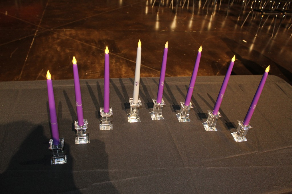 National Technical Honor Society Eight Attributes Candles