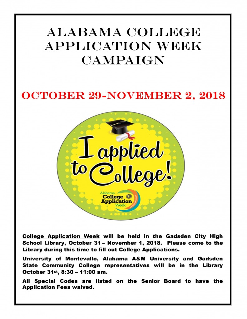 College Application Week Campaign