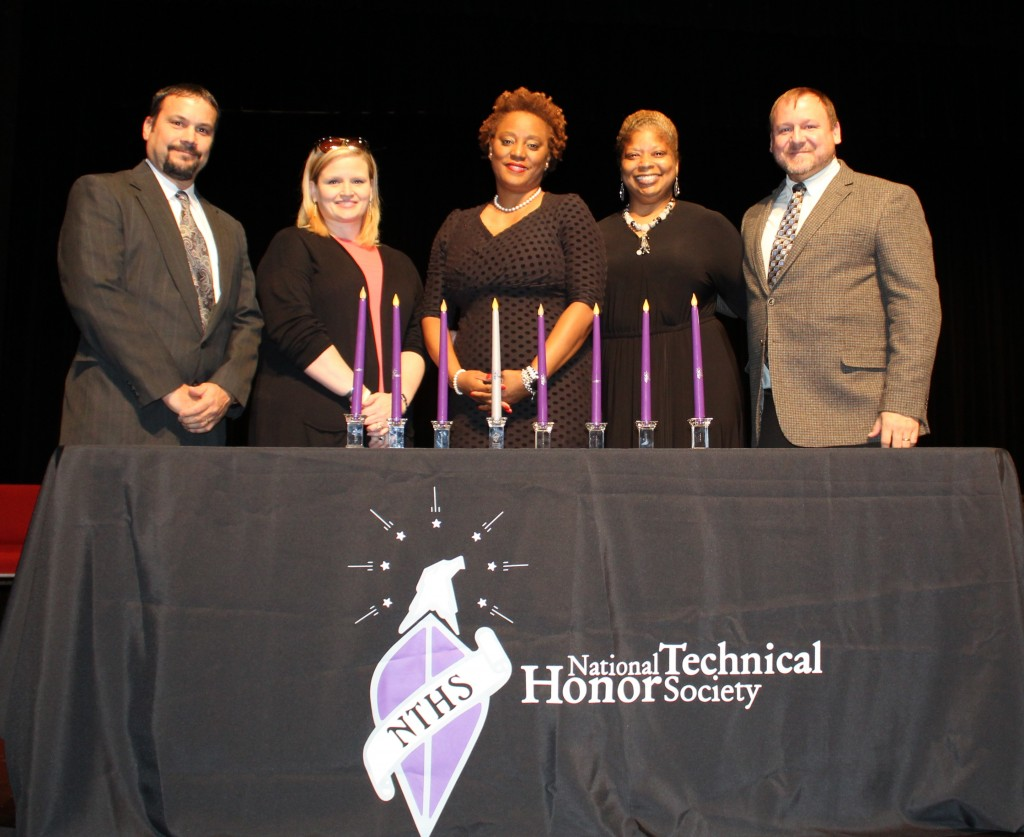 National Technical Honor Society Advisors and GCHS Principal