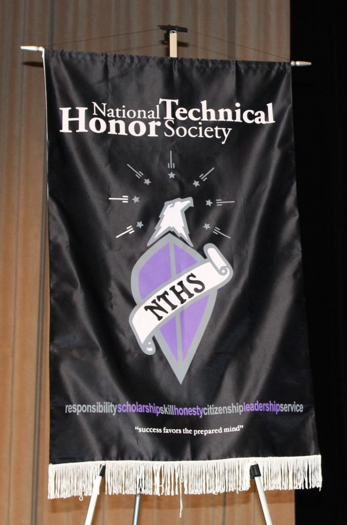 National Technical Honor Society Banner