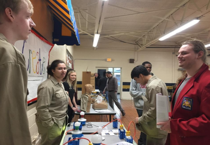 Career Tech Road Show at Litchfield Middle School