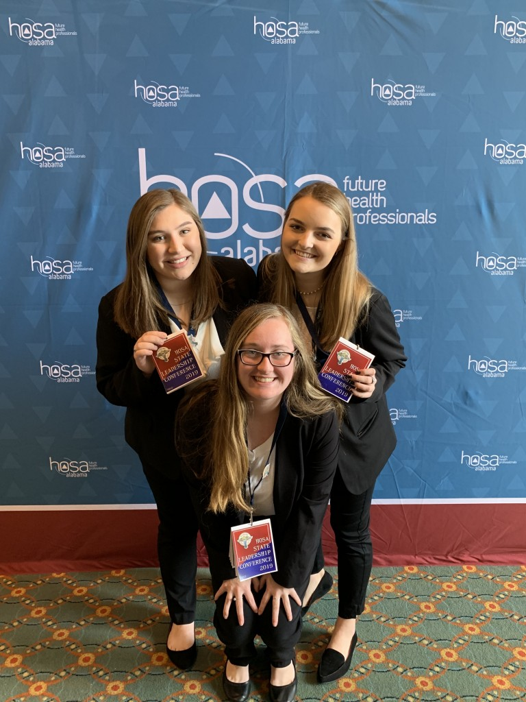 HOSA Leadership Conference Winners