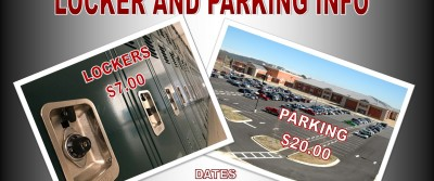 New Locker and Parking Info