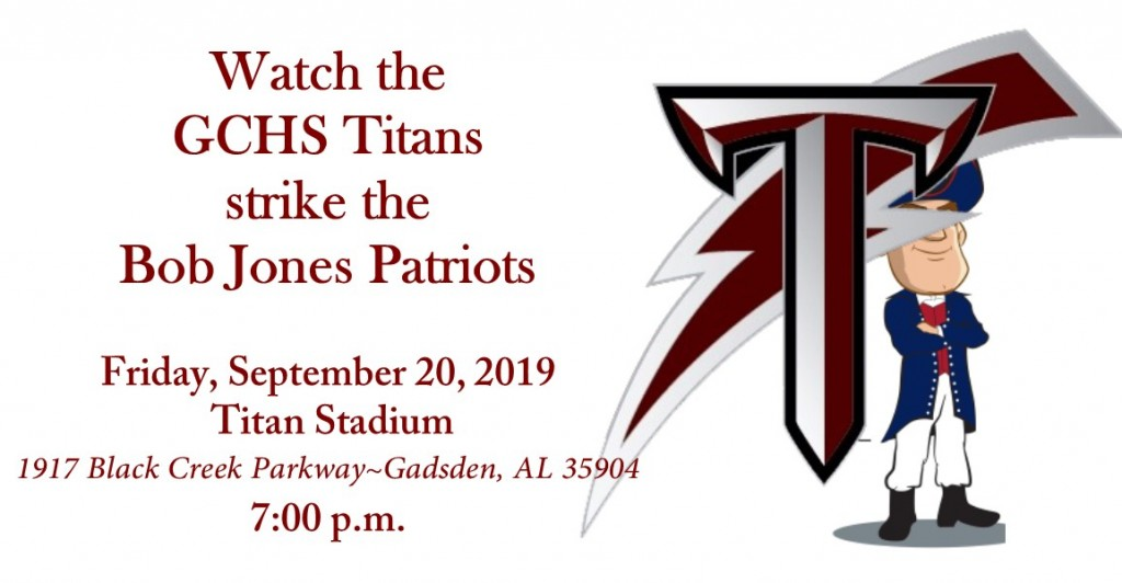 Titans Strike the Bob Jones Patriots