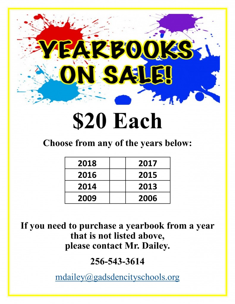 Old Yearbooks on Sale