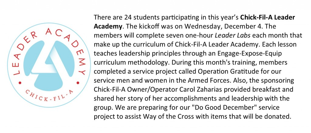 Chick-Fil-A Leader Academy