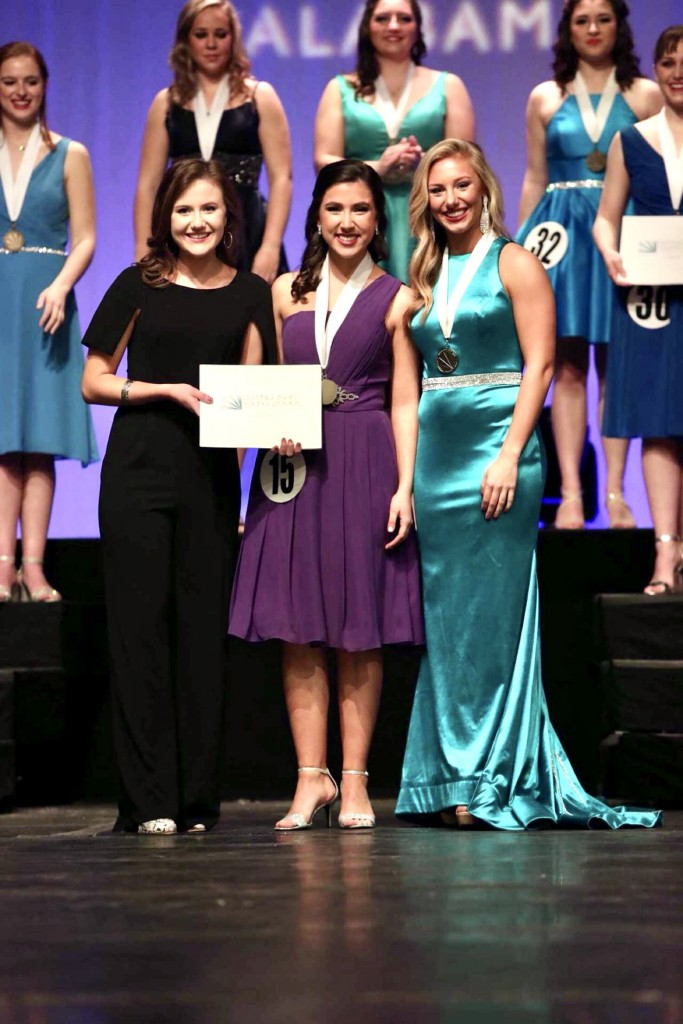 McCain Foster represented Etowah County at Distinguished Young Women of Alabama in Montgomery, Alabama January 10-18, 2020.