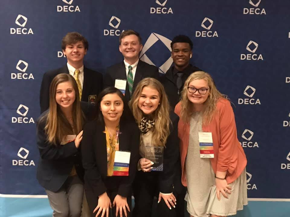 DECA members at the 2020 DECA Career Development Conference and Competition.