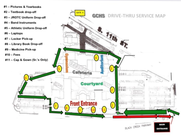 Traffic Map for May 21