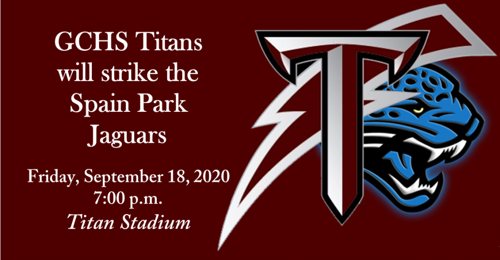 Titans vs. Spain Park at Titan Stadium, 7:00 p.m.