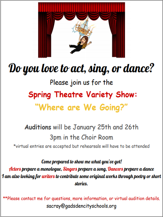 Spring Theatre Auditions